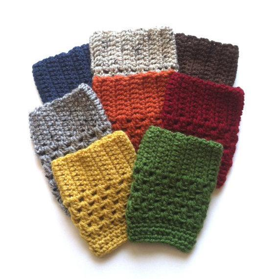 Boot Cuffs - Lots of great colors!